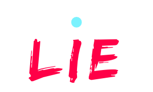 Truth Truth Lie logotype